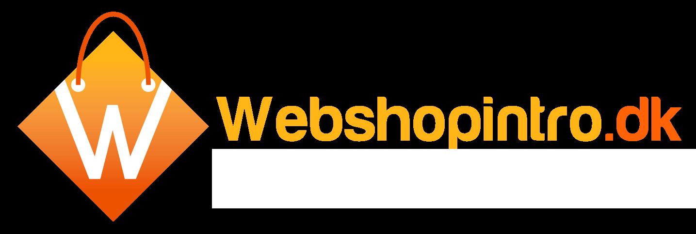 Webshop Introduktion